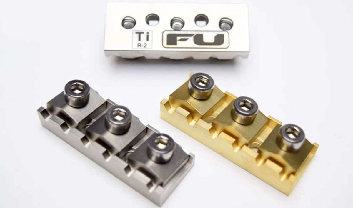 FU-Tone Launches New Titanium and Naval Brass Locking Nuts