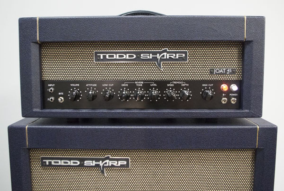 Todd Sharp Amplifiers Announces the JOAT 45RT