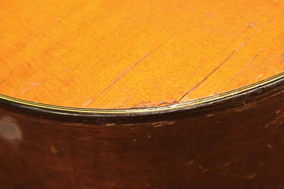 Acoustic Soundboard: Just Say No to Cracks