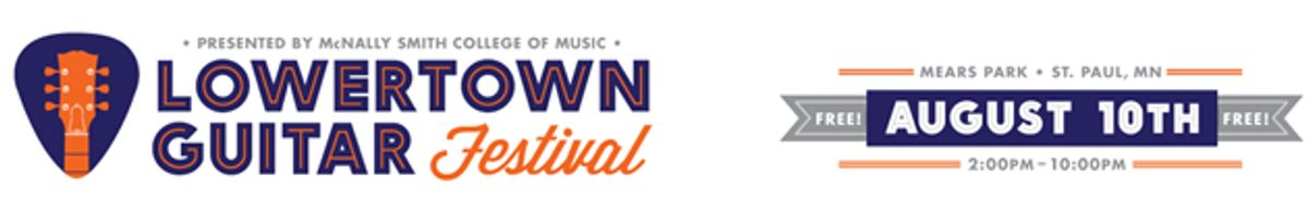 Lowertown Guitar Festival Announces 2013 Lineup