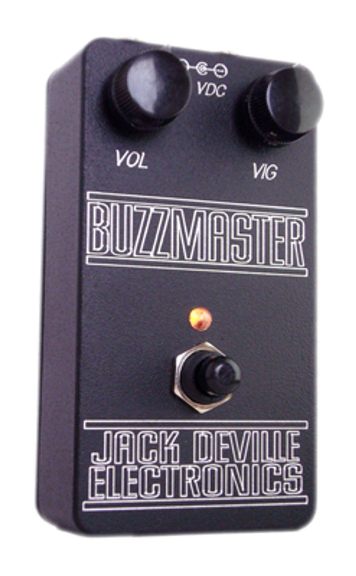 Jack Deville Announces Buzzmaster Fuzz Pedal