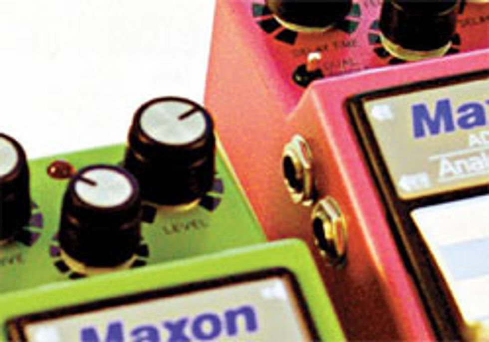 Maxon Nine Series Pedals