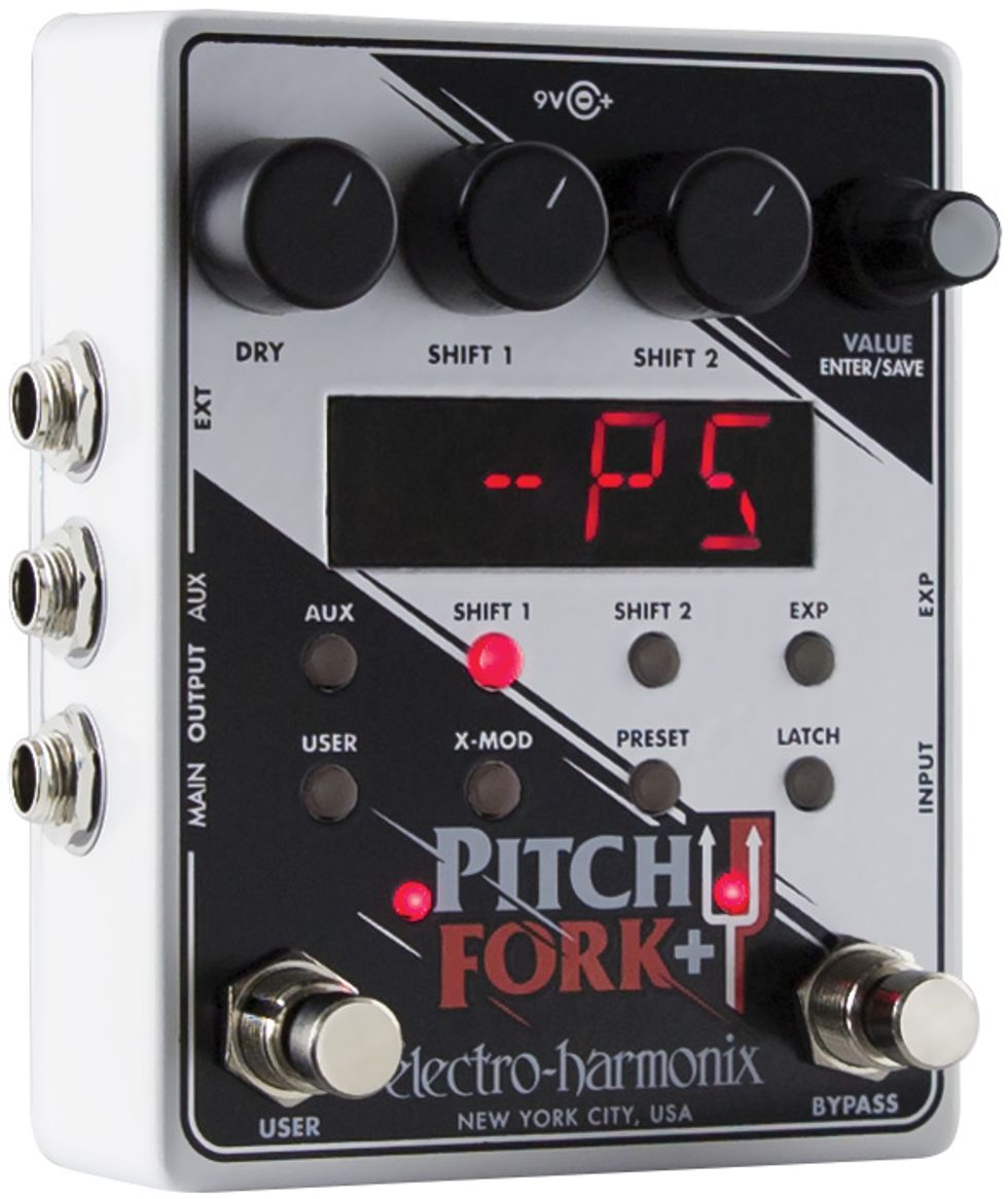 Electro-Harmonix Pitch Fork + Review - homepage