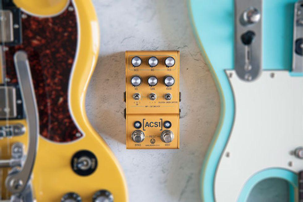 Walrus Audio Unveils the ACS1 Amplifier & Cab Simulator
