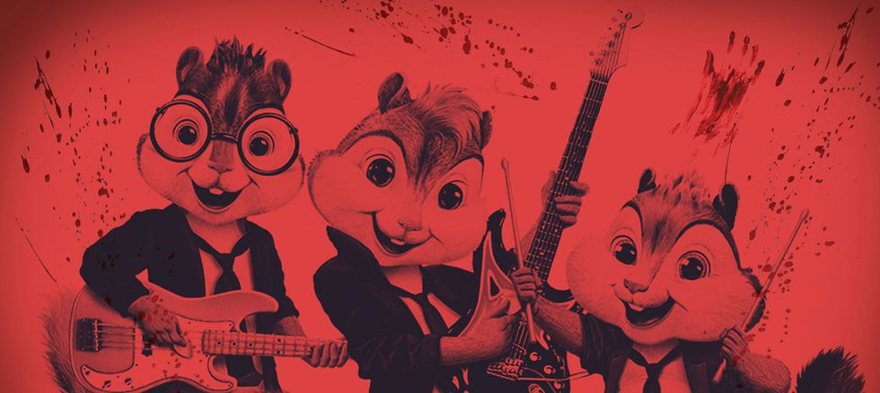 Tuning Up Alvin and the Chipmunks Seeing Red homepage