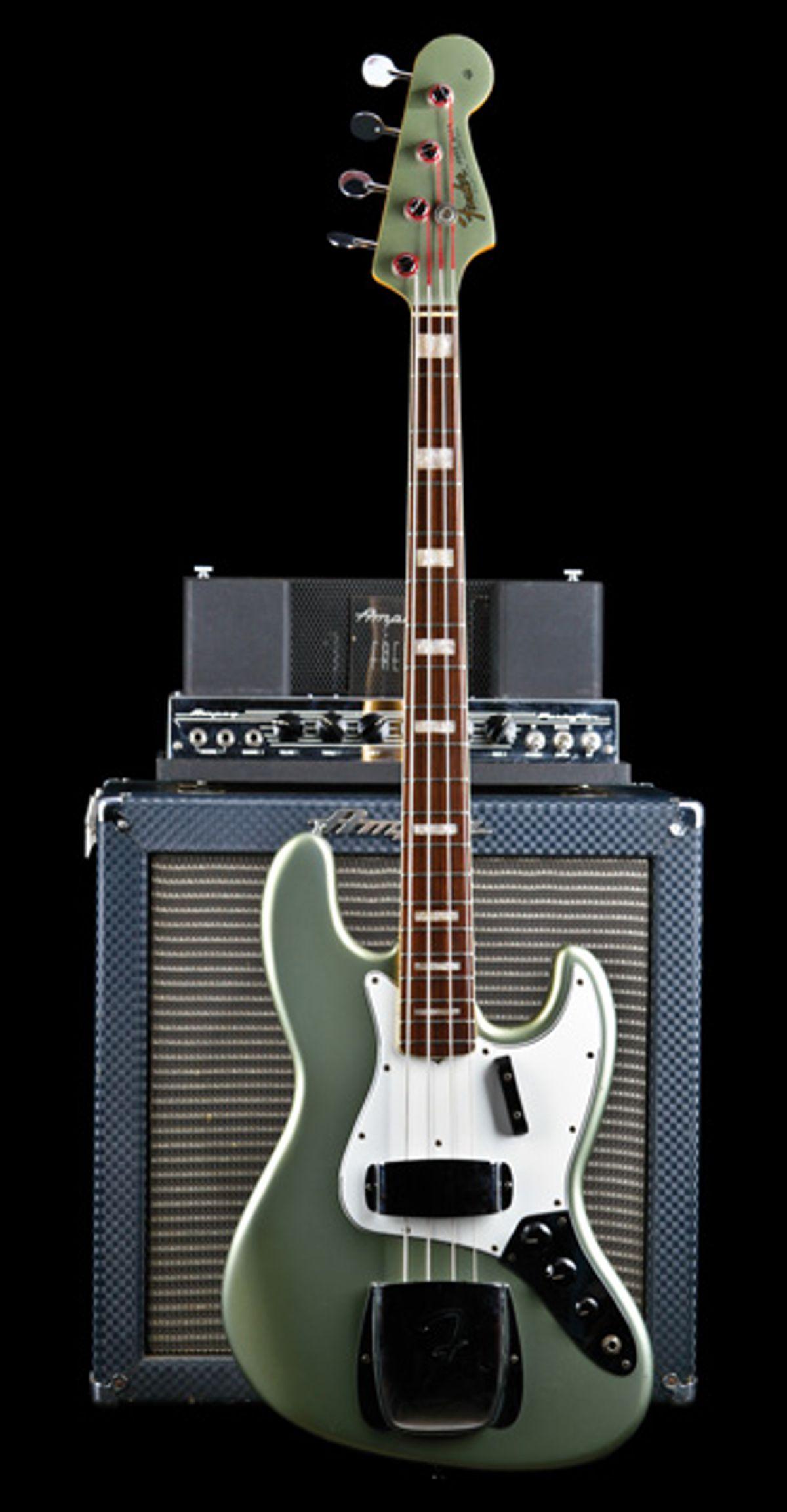 Vintage Vault: 1966 Fender Jazz Bass in Firemist Silver