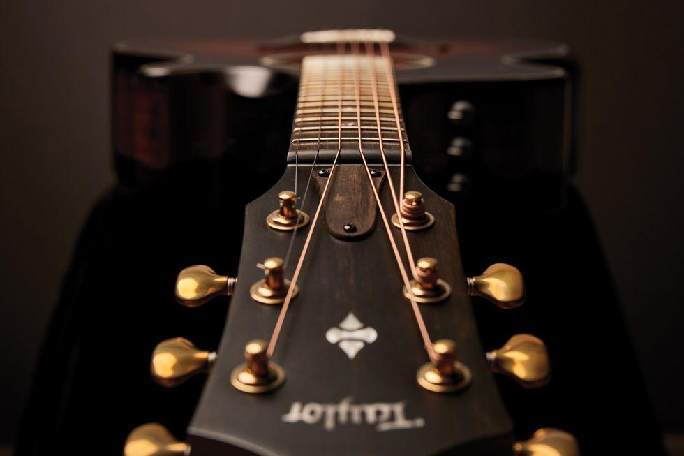 Acoustic Soundboard Taylor Guitars fretboard homepage