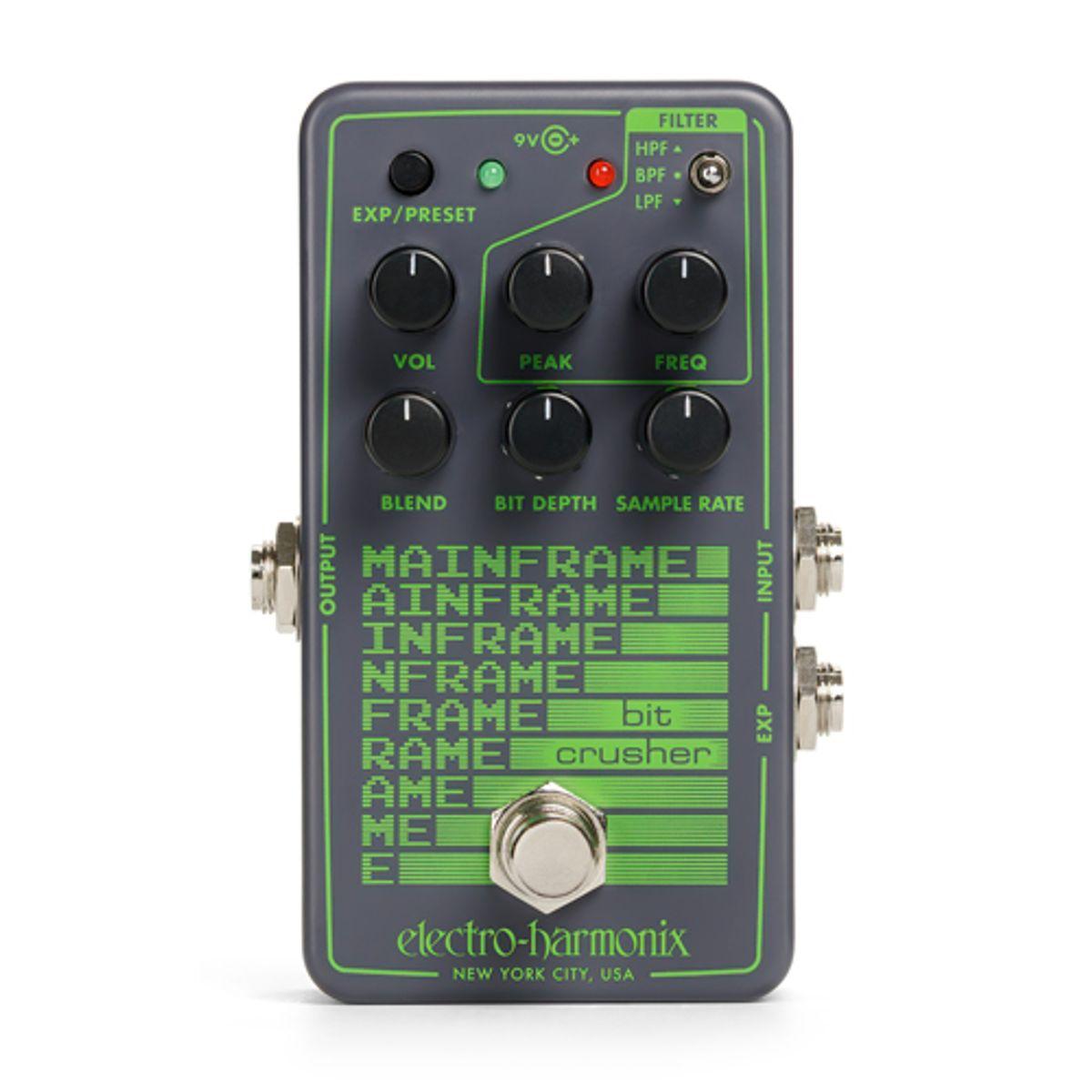 Electro-Harmonix Announces the Mainframe