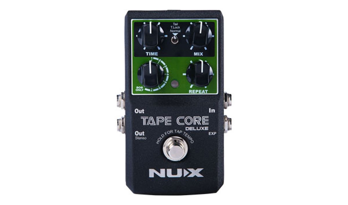 Nu-X Announces Tape Core Deluxe and Core Editor Software