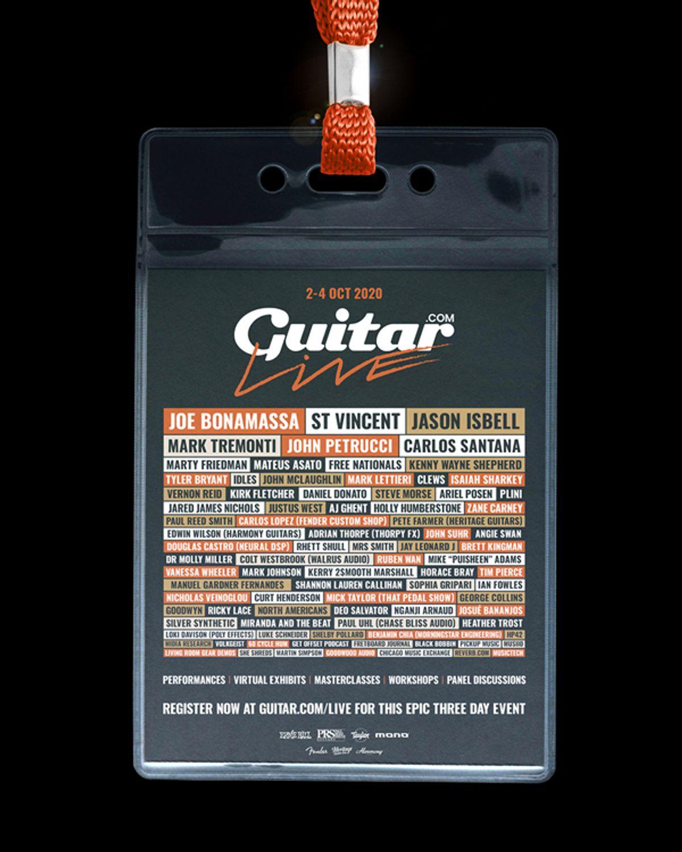 Guitar.Com Unveils Final Lineup for Virtual Guitar Show