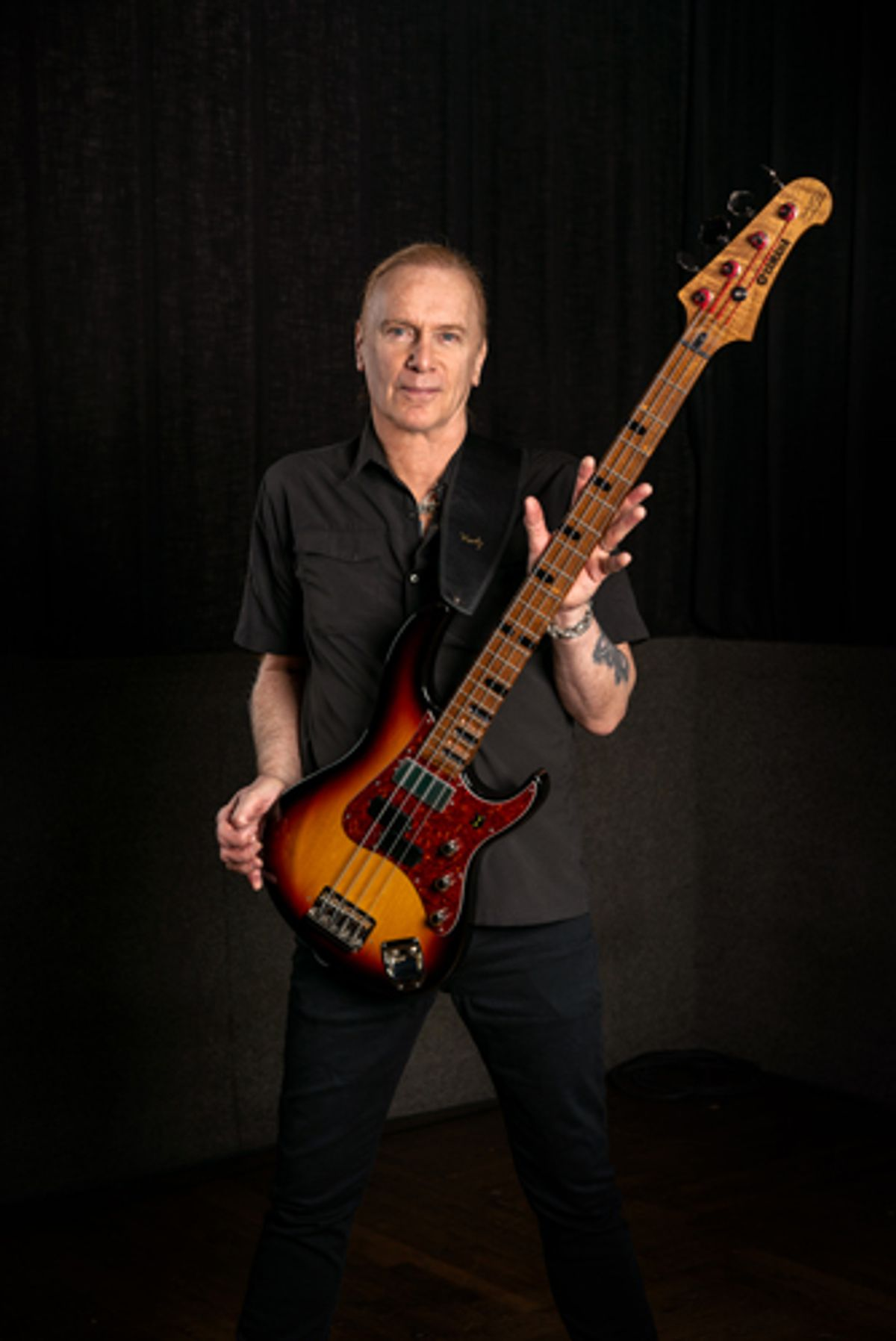 Billy Sheehan and Yamaha Announce the Attitude 30th Anniversary Bass