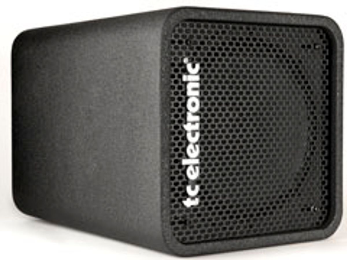 TC Electronic Announces the RS112 Bass Cabinet