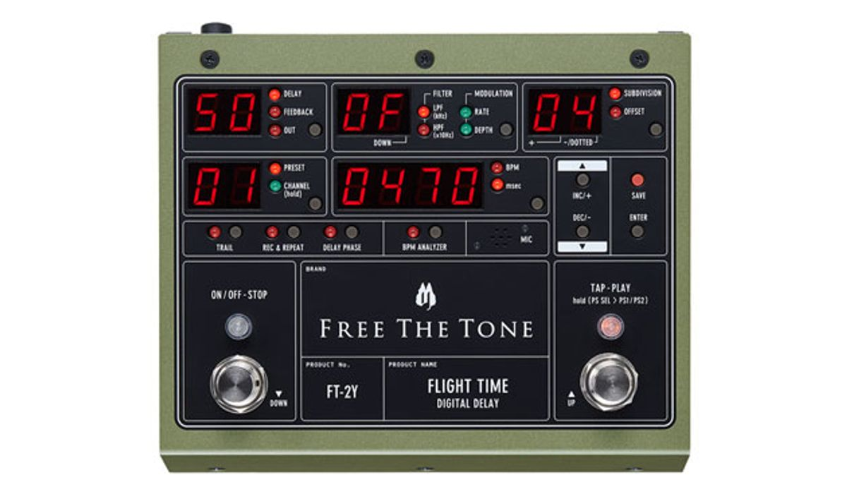 Free the Tone Unveils the Flight Time FT-2Y