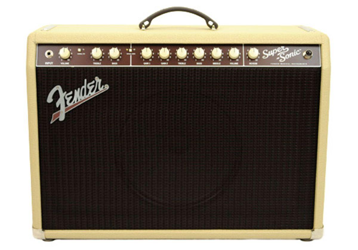 Fender Super-Sonic 22 Combo Amp Review