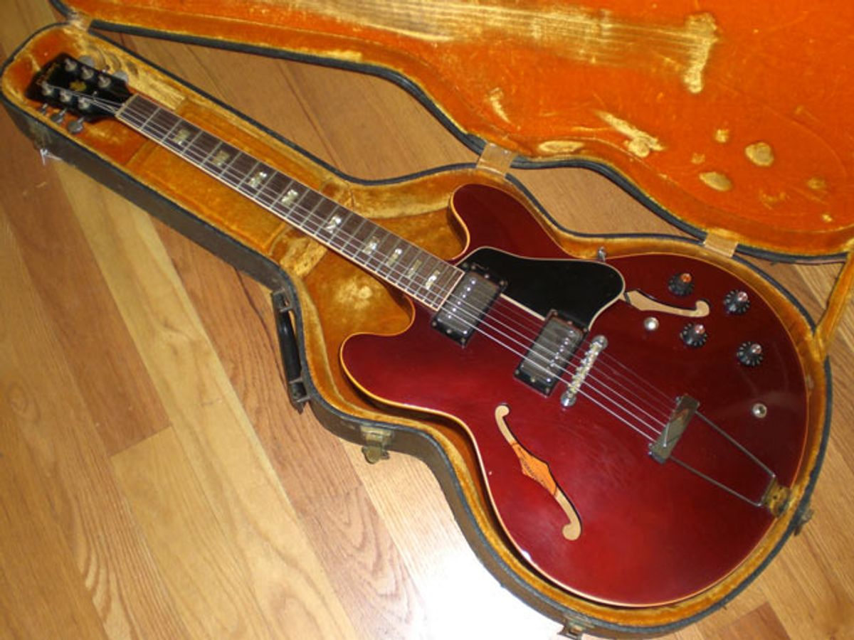 1967 Gibson ES-335, Burgundy Metallic