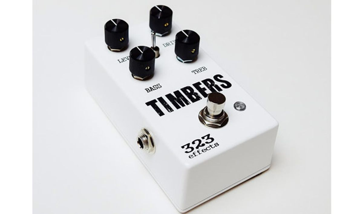 323 Effects Releases Timbers Overdrive Pedal