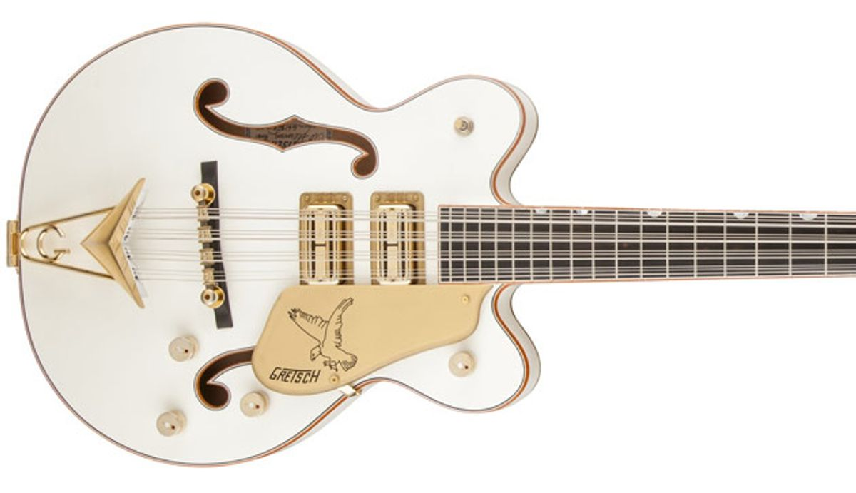 Gretsch Unveils  Tom Petersson Signature Basses and Adds Limited-Edition Models