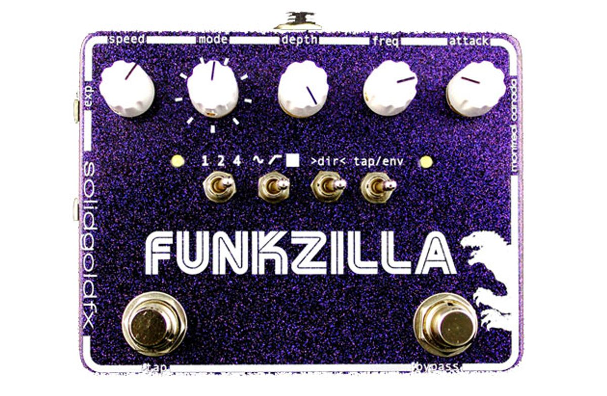 SolidGoldFX Introduces the Funkzilla