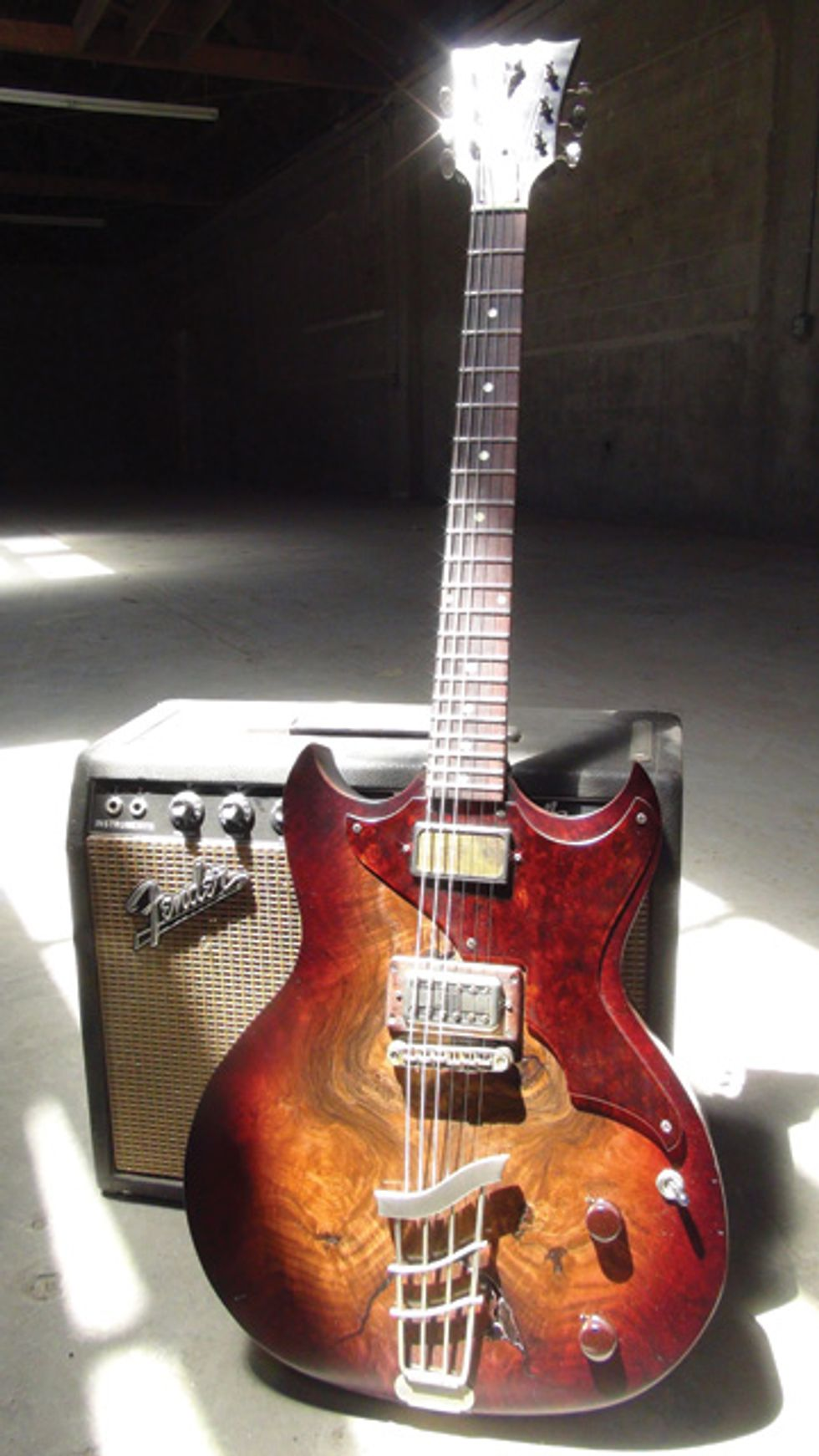 guitar of the month josh homme custom echopark crow premier guitar. Black Bedroom Furniture Sets. Home Design Ideas
