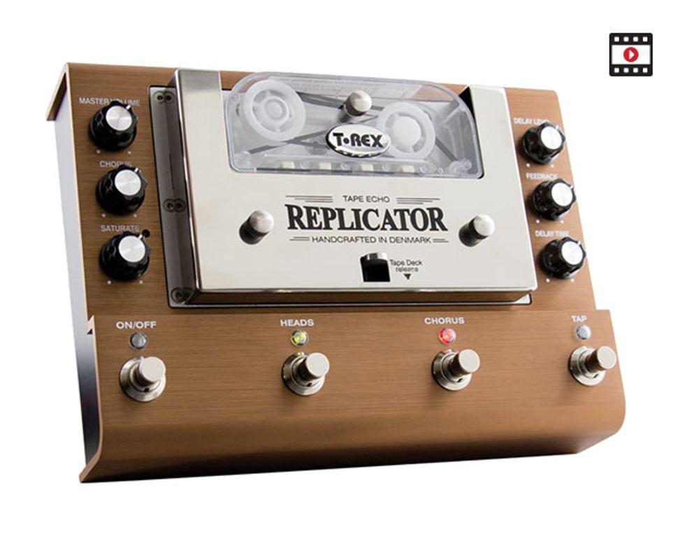 t rex replicator tape echo review premier guitar. Black Bedroom Furniture Sets. Home Design Ideas