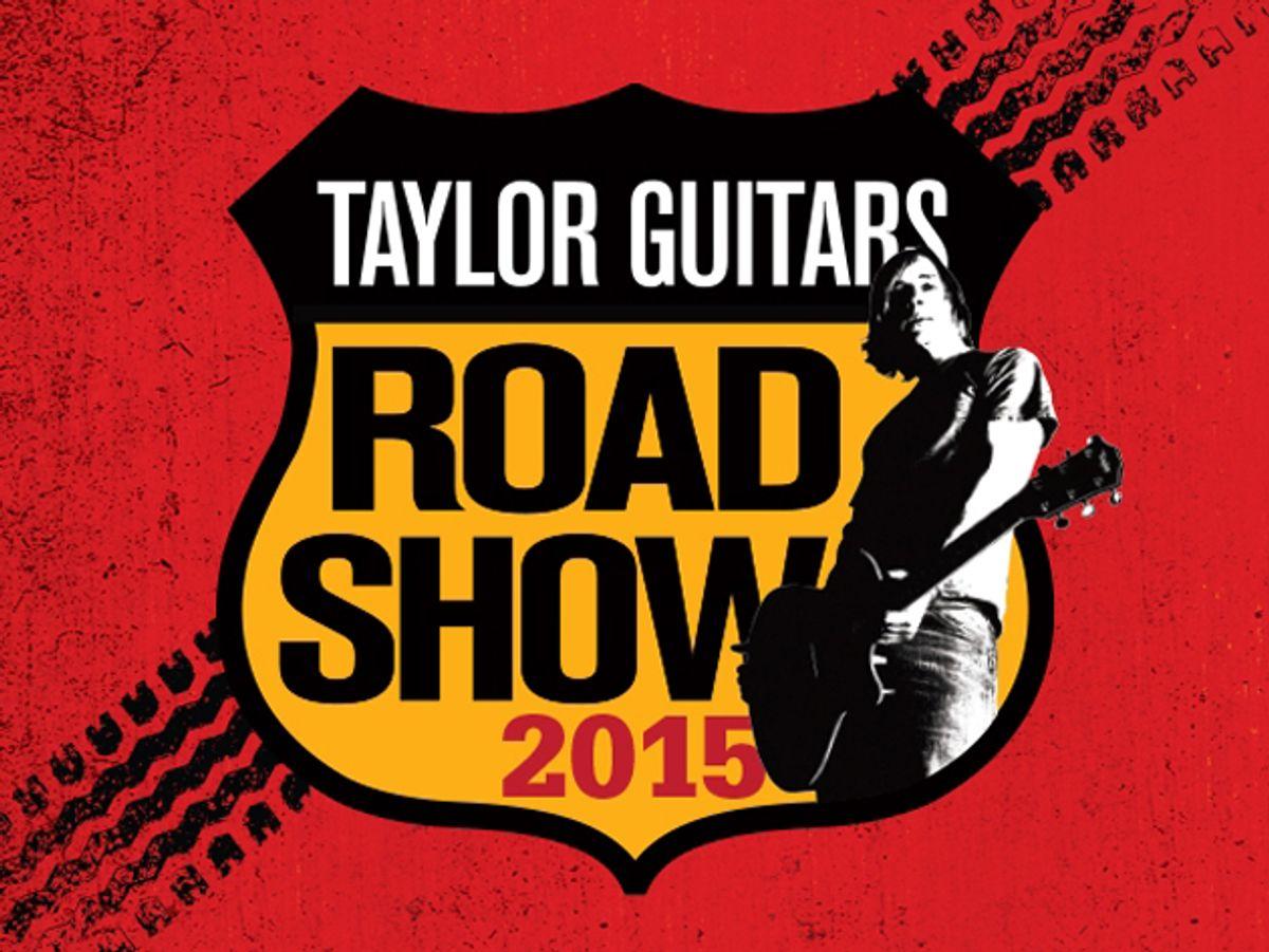 Taylor Guitars Kicks Off 2015 Road Shows