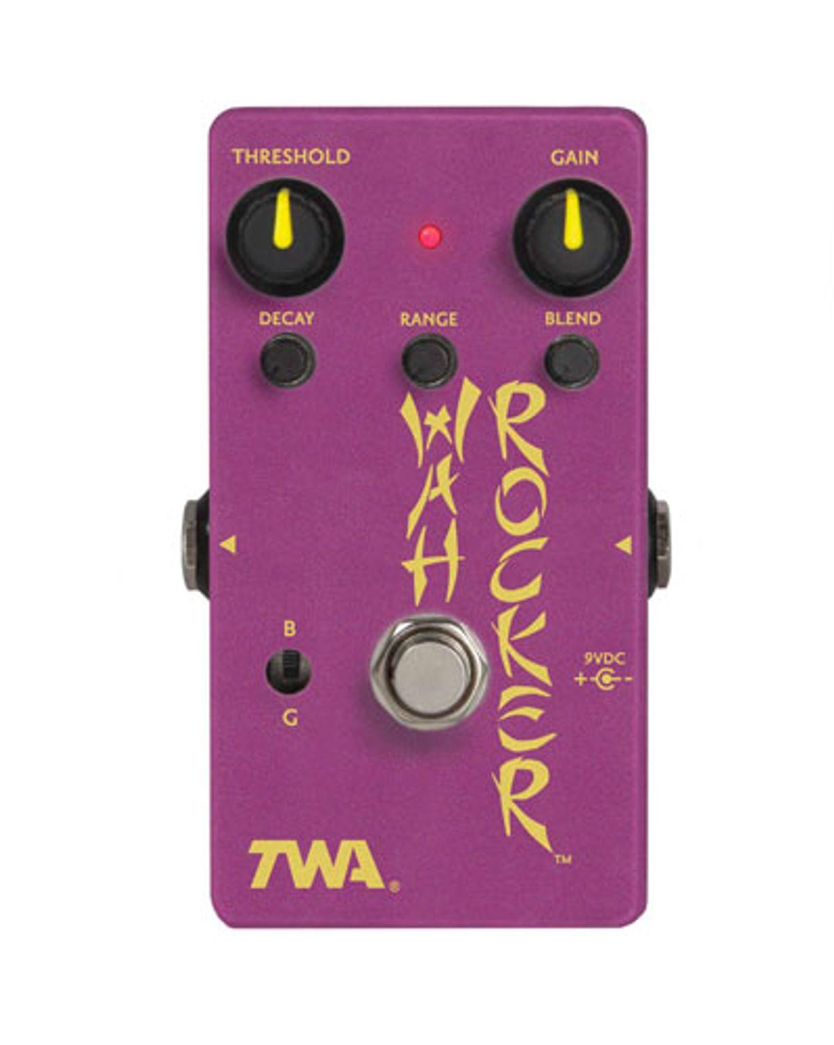 TWA Releases the WR-3 Wah Rocker Envelope Filter