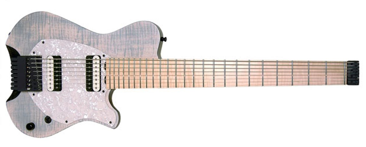 Oakland Axe Factory Introduces Line of Headless Guitars