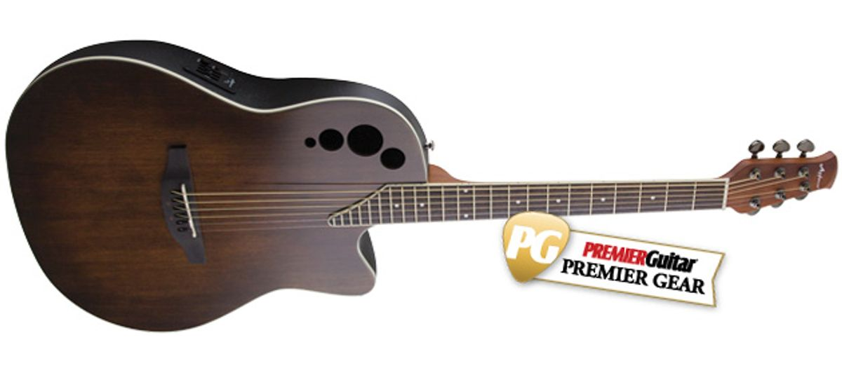 Quick Hit: Ovation Applause Elite AE44II-VV Review