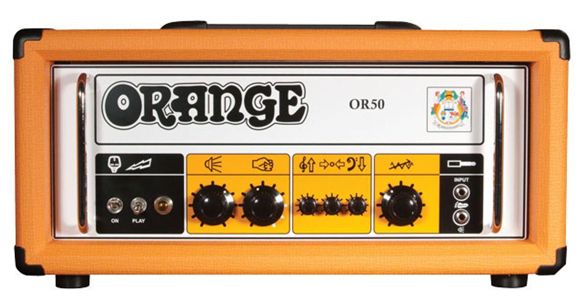 Orange OR50H Reissue Amp Review
