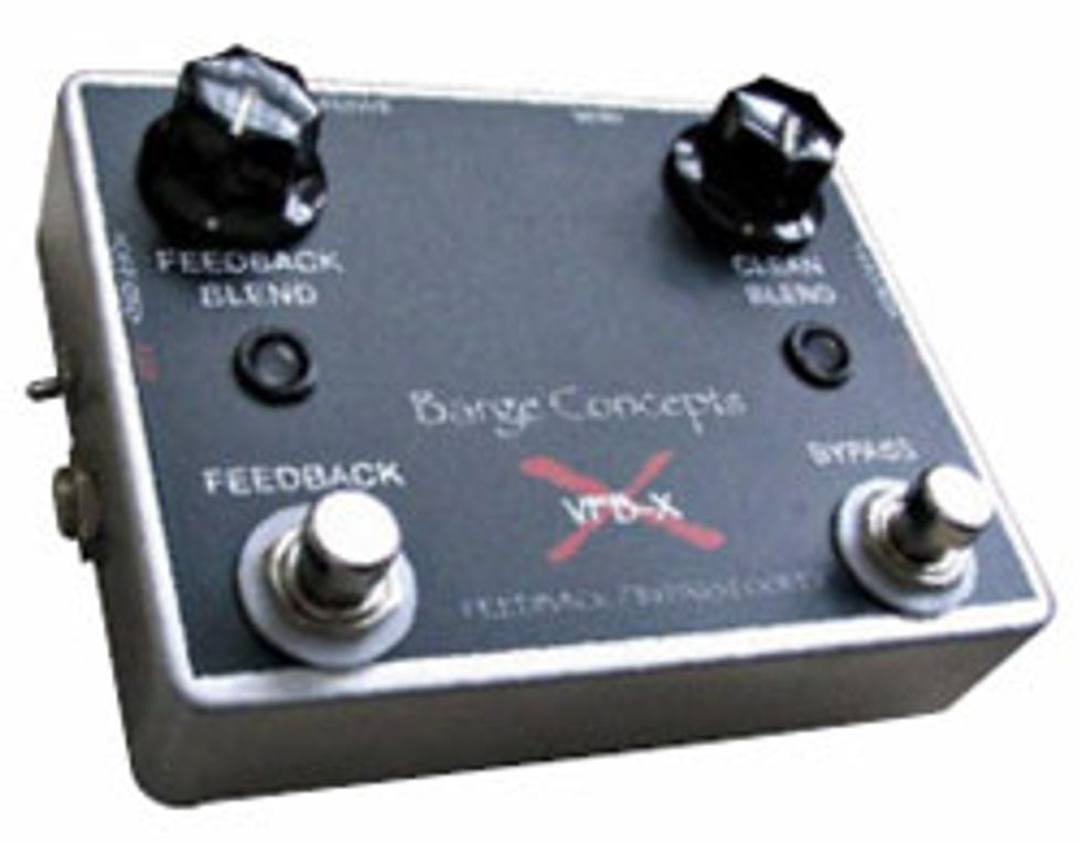 Barge Concepts VFB-x Variable Feedback and Blend Buffer/Bypass Looper
