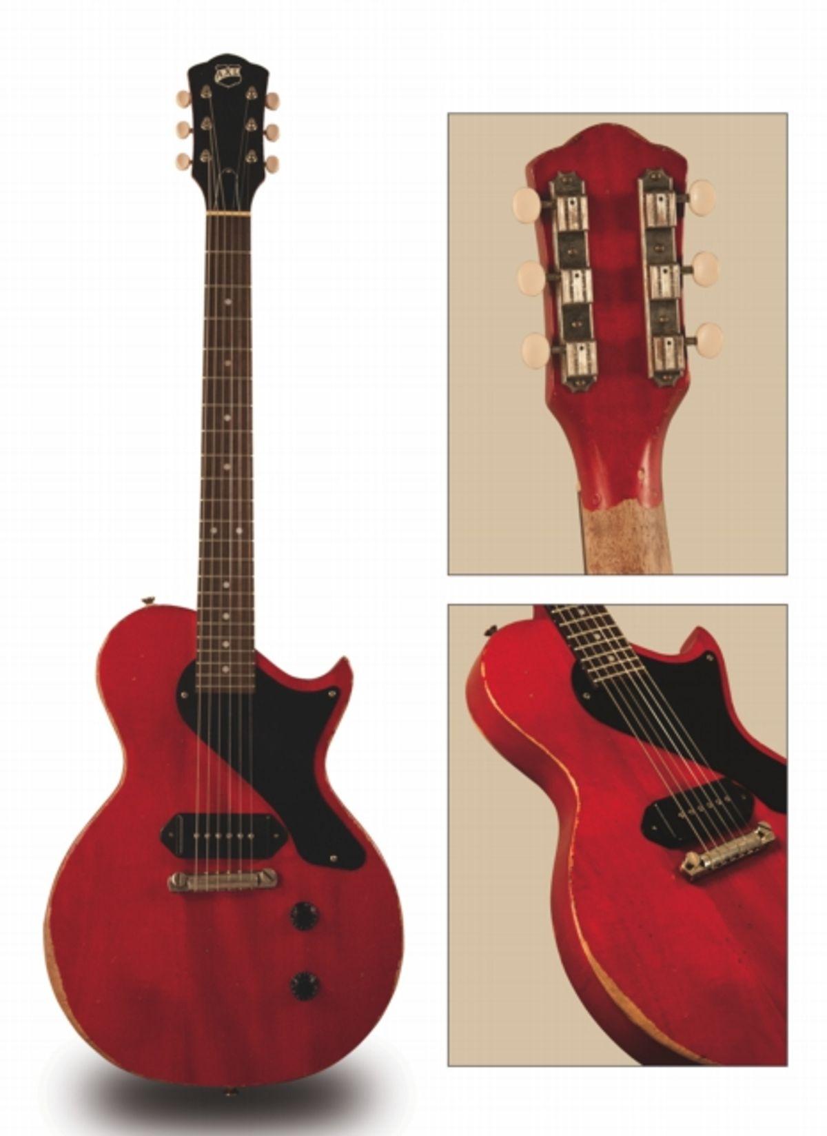 AXL Guitars Announces Hand-Aged Bulldog