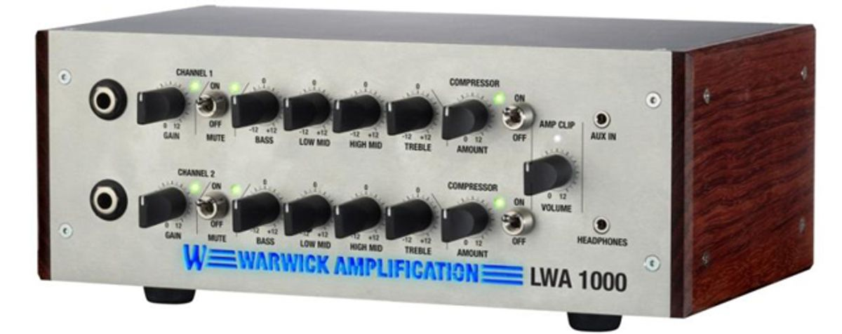 Warwick Announces New Bass Amps and Cabs for 2013