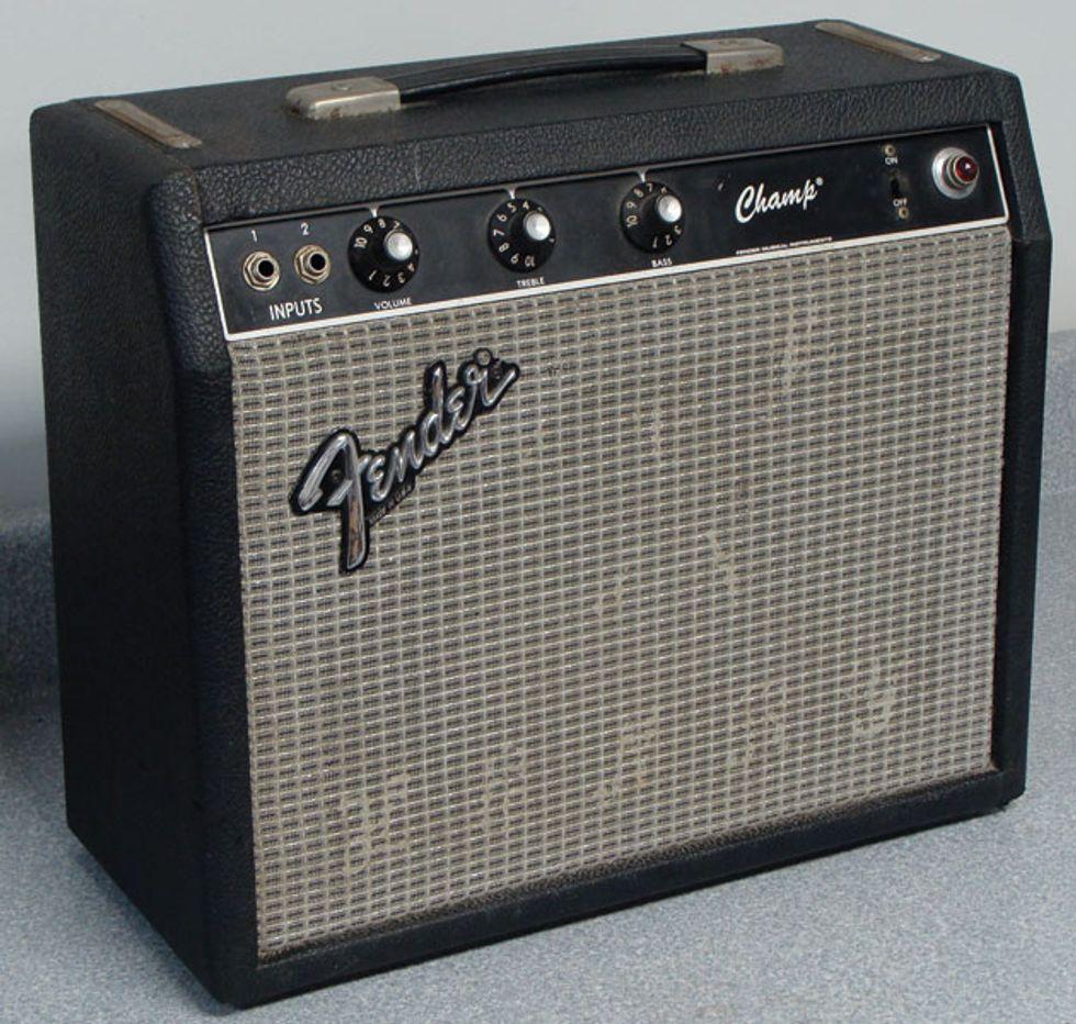 Ask Amp Man: Pumping Up an '80s Fender Champ | Premier Guitar