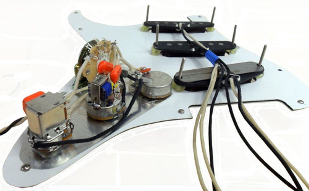 Sheptone Releases Fully-Assembled Strat-Style Pickguards