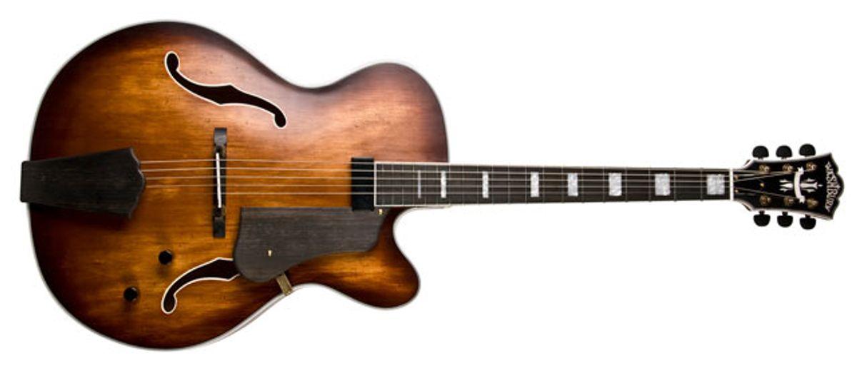 Washburn Guitars Introduces the J600 Vintage Jazz Box