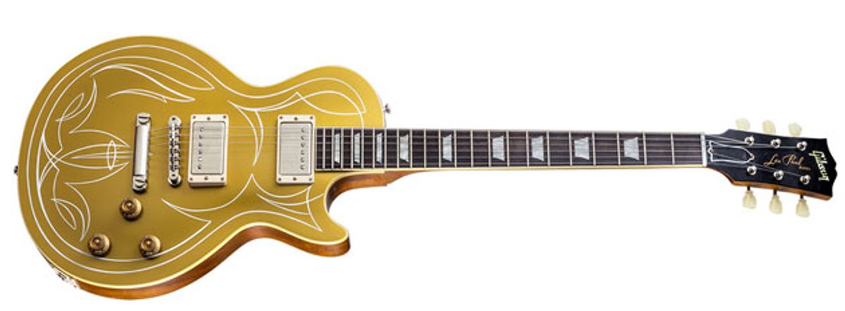 Gibson Introduces the Billy F. Gibbons Goldtop