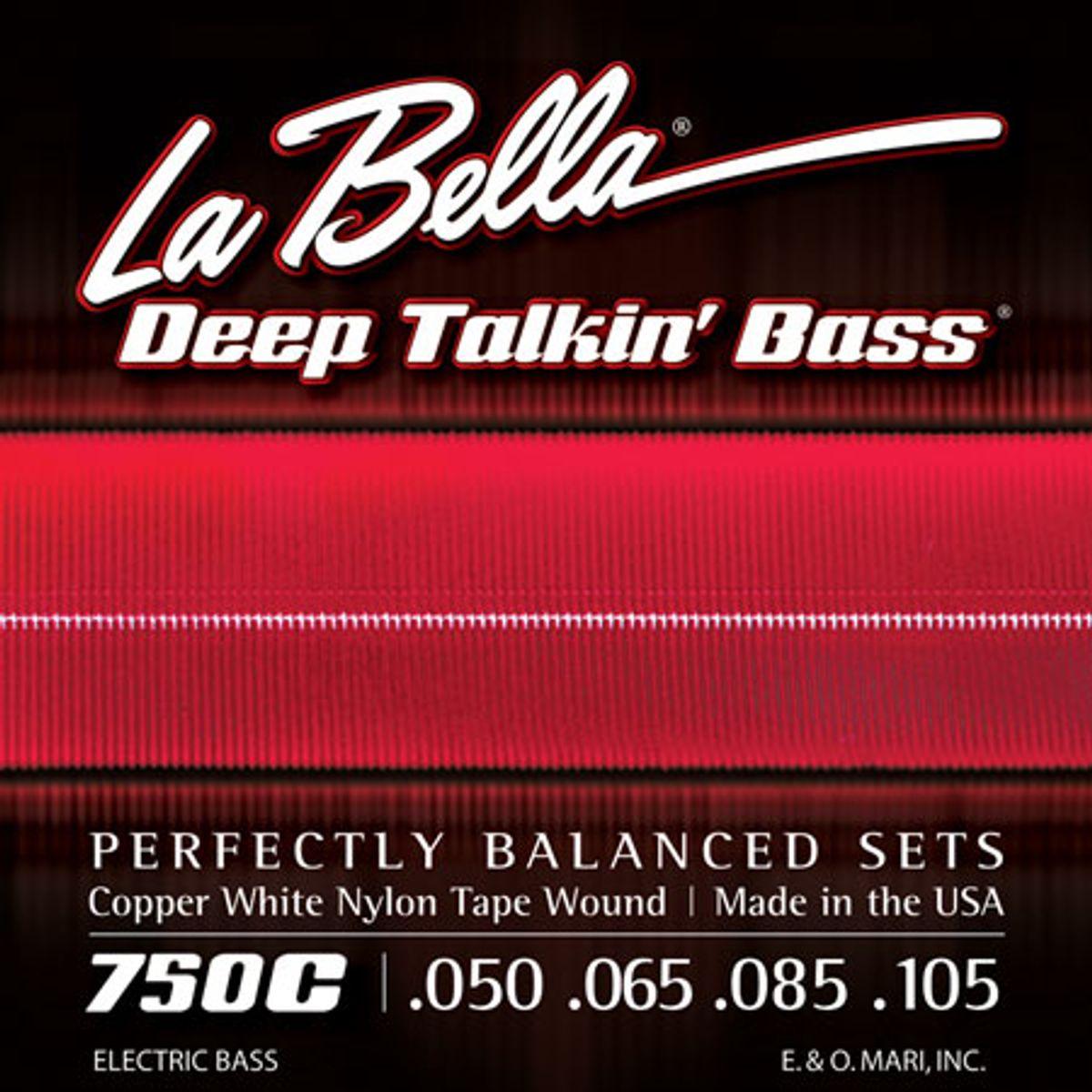 La Bella Strings Introduces the Copper White Nylon Tape Wound Series