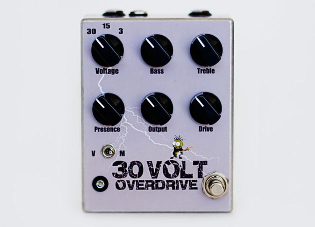 Freaking Sick Electronics Introduces the Thirty Volt Overdrive