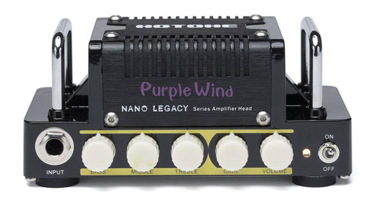 Hotone Audio Introduces Nano Legacy Micro Amp Series