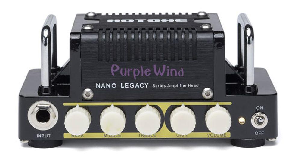 Hotone Audio Introduces Nano Legacy Micro Amp Series 2014 02 19 Premier Guitar