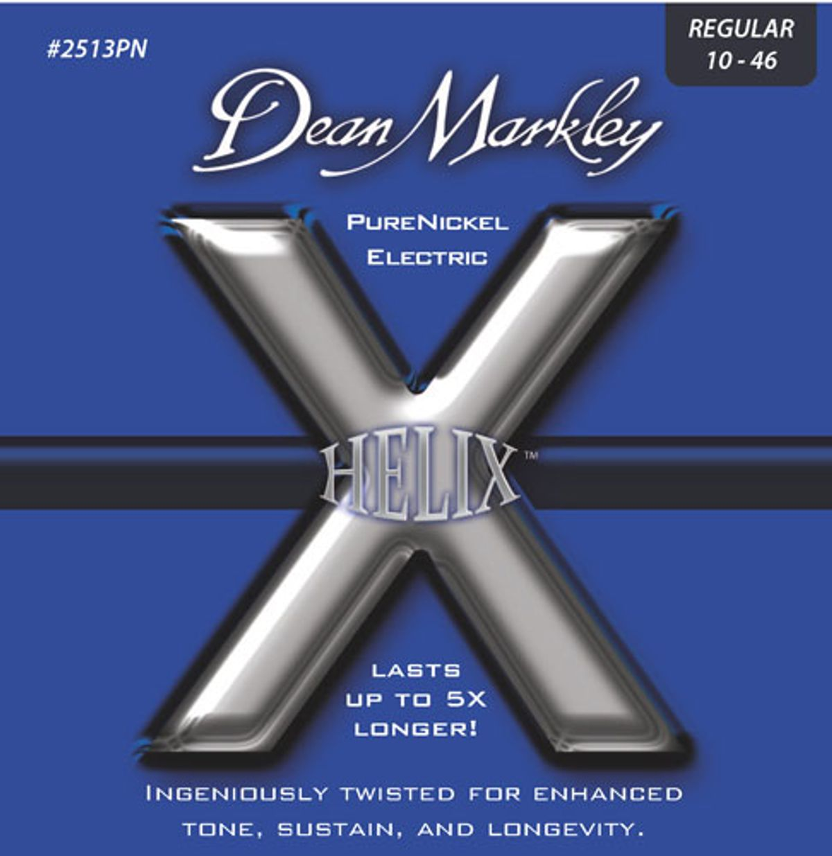 Dean Markley Announces Helix Pure Nickel Guitar Strings