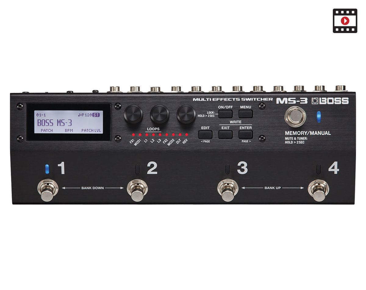 Boss MS-3 Review