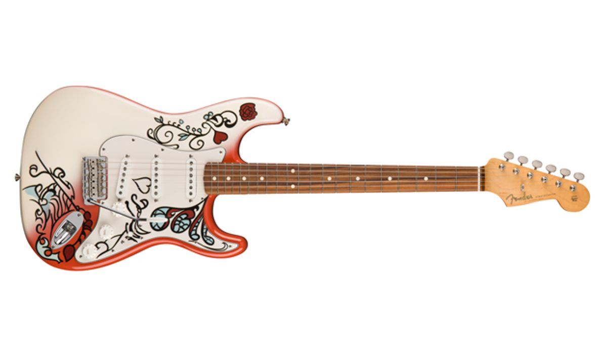 Fender Releases Limited Edition Jimi Hendrix Monterey Stratocaster