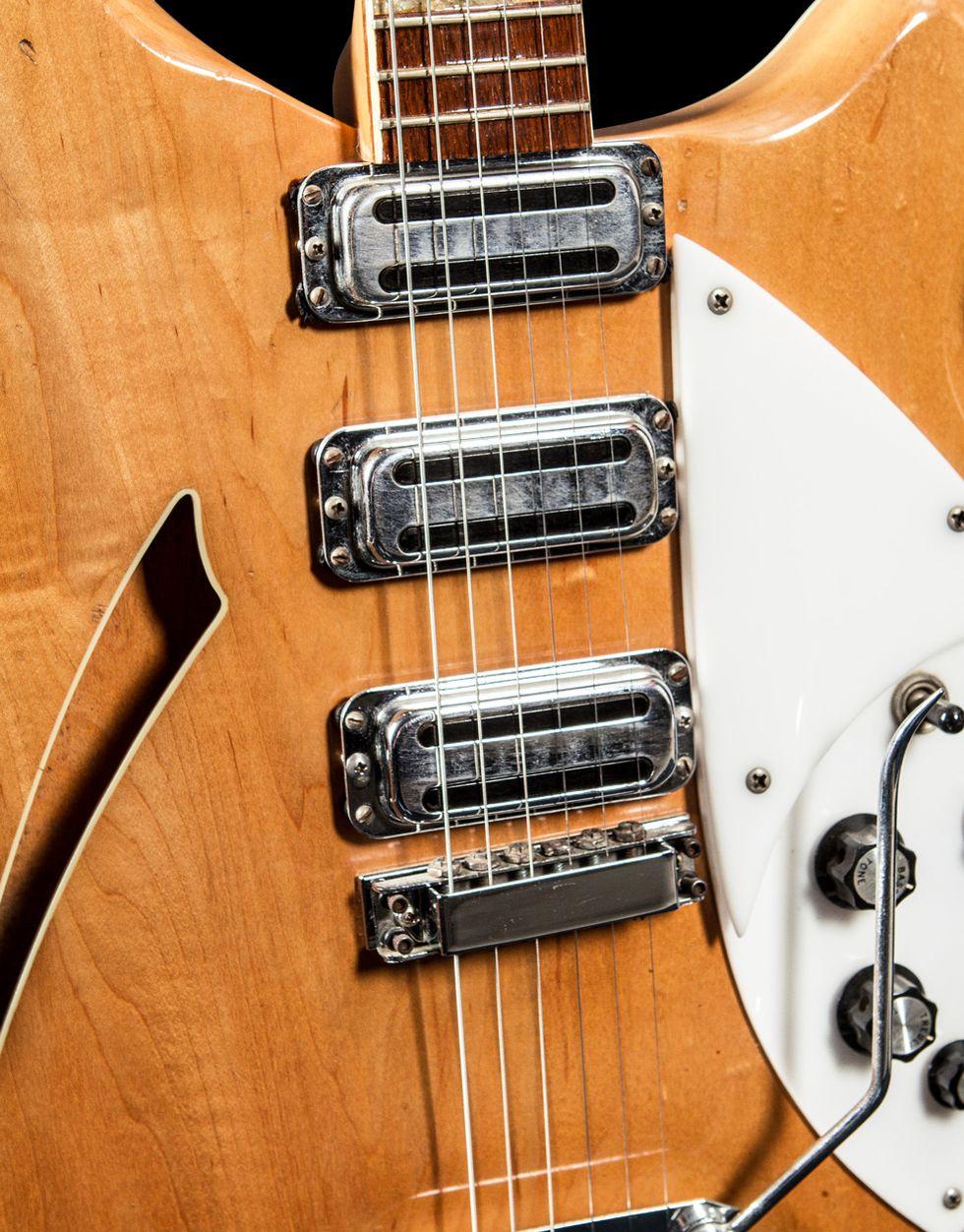 Vintage Vault 1966 Rickenbacker 375 Mapleglo Premier Guitar