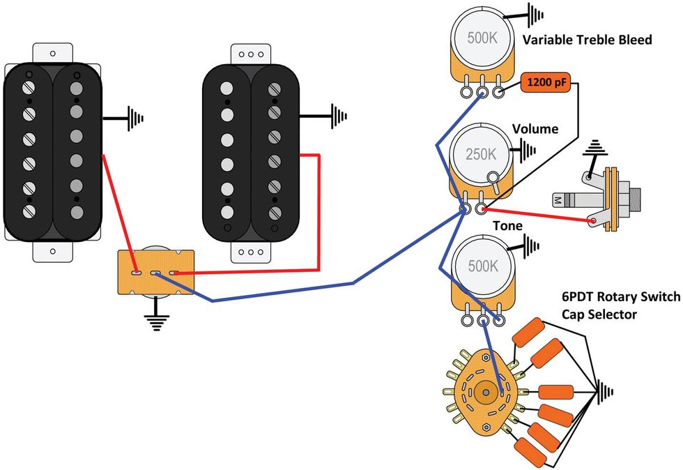 Gibson Les Paul Selection Switch Wiring Diagram