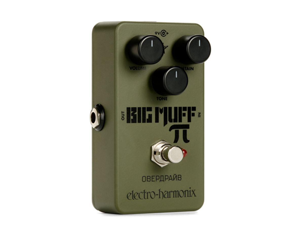 Electro-Harmonix Reissues the Green Russian Big Muff