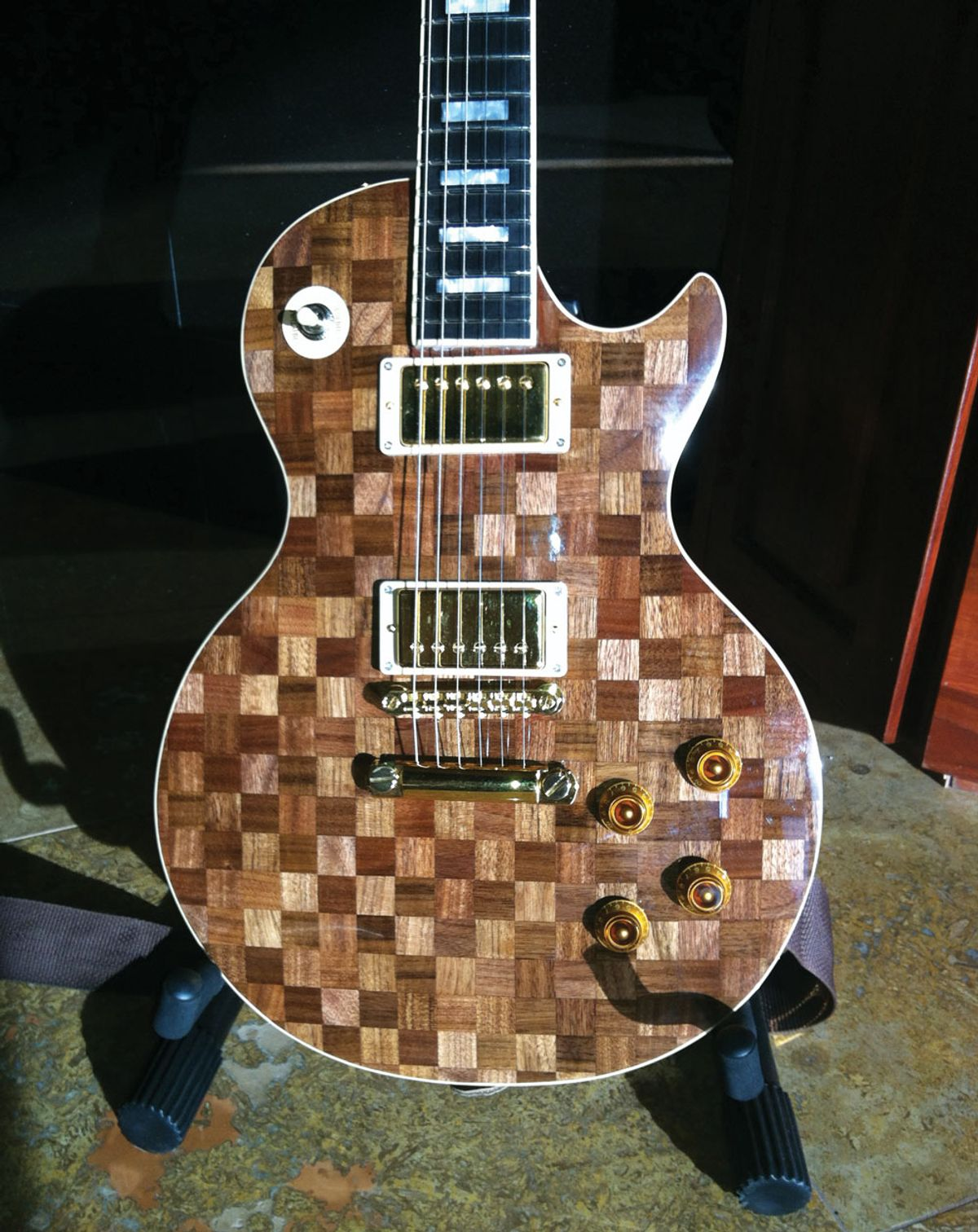 Reader Guitar of the Month: Parquet Paul