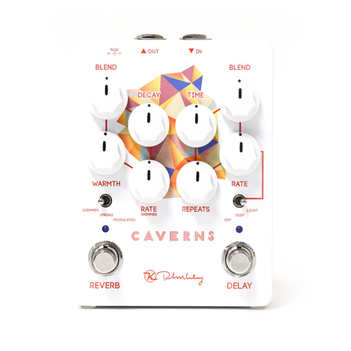 Keeley Electronics Announces the Caverns Delay Reverb V2