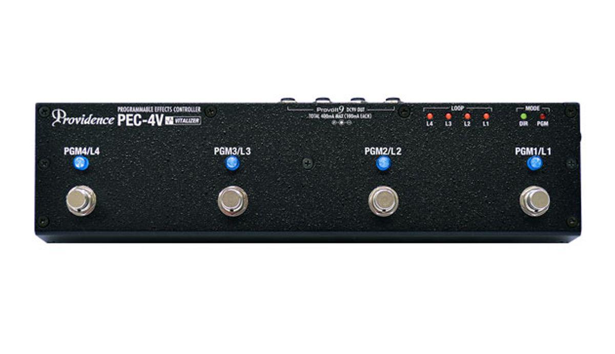Providence Releases the PEC-4V