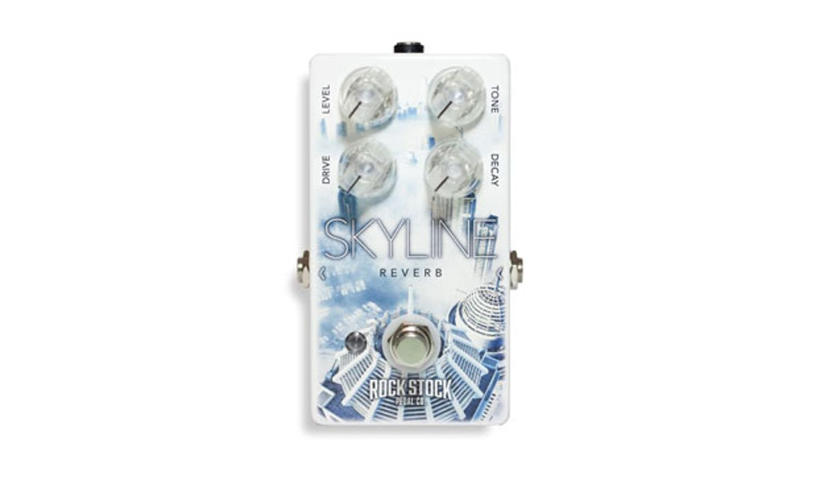 Rock Stock Pedals Release the Skyline Reverb V2